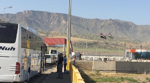 Irak Fotoğraflı Kayıt Sistemine Geçti, Halil İbrahim Gümrük Kapısı'nda Kuyruklar Uzadı
