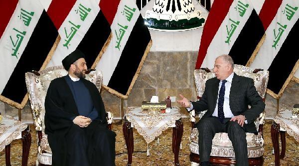 Irak Parlamento Başkanı El Nüceyfi, Ammar El Hekim'i Kabul Etti