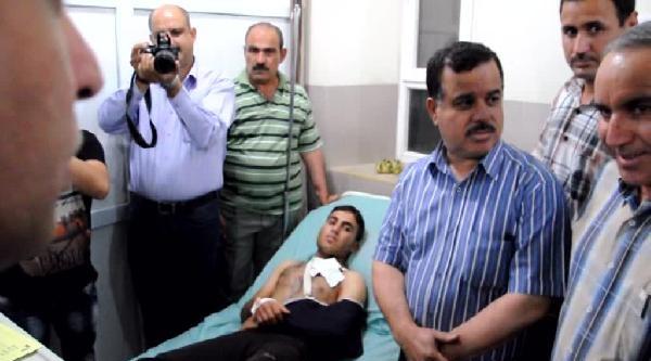Irak Türkmen Cephesi Heyeti Işid Tarafından Yaralanan Türkmenleri Ziyaret Etti