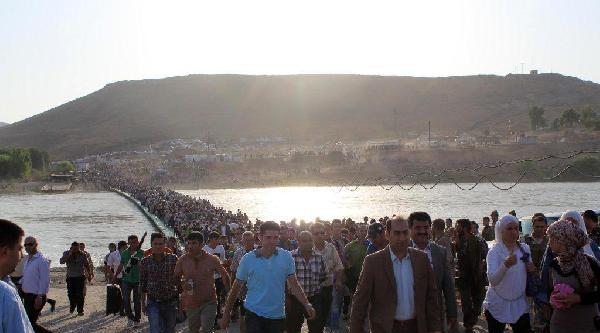 Irak'in Simelka Sınır Kapısı'nda İnsanlik Trajedisi