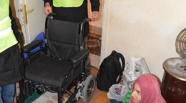 Irakli Kadina Tekerlekli Sandalye