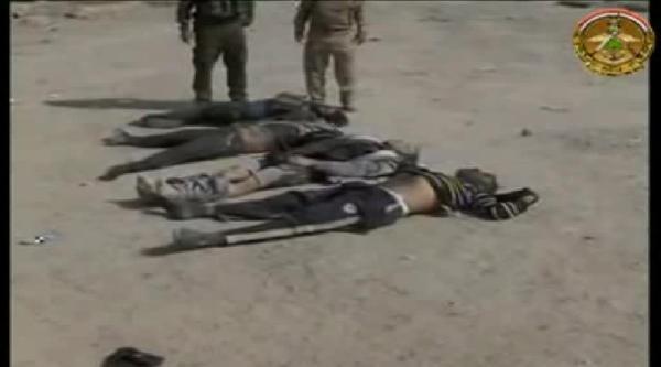 Irak'ta 52 Işid Üyesi Öldürüldü