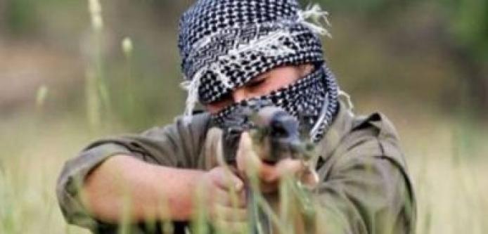 Irak'tan Komando Bölüğüne Taciz Ateşi...
