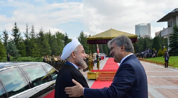 İran Cumhurbaşkanı Ruhani Ankara'da (1)