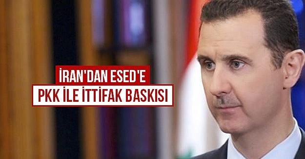İran'dan Esed'e PKK ile ittifak baskısı
