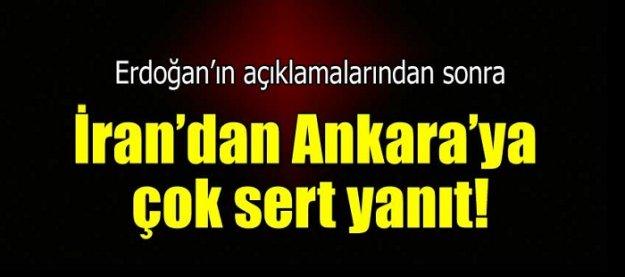 İran'dan Ankara'ya sert yanıt!