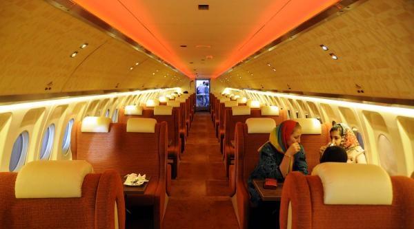 İran'in Uçak Kafesi 'chichak Airlines'