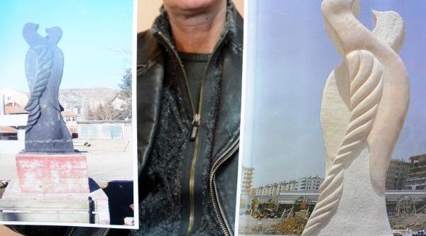 Iranli Heykeltiraşi Kizdiran Taklit Heykel