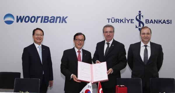 Is Bankası İle Güney Koreli Woorı Bank İşbirliği Anlaşması İmzaladi