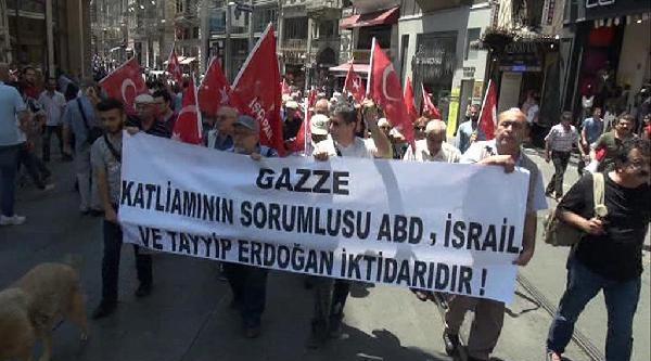 İşçi Partisi'nden İsrail Protestosu