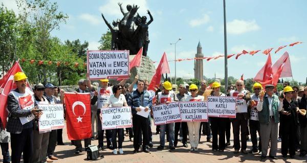 İşçi Partisi'nden Soma'da Ölenler İçin Saygı Duruşu