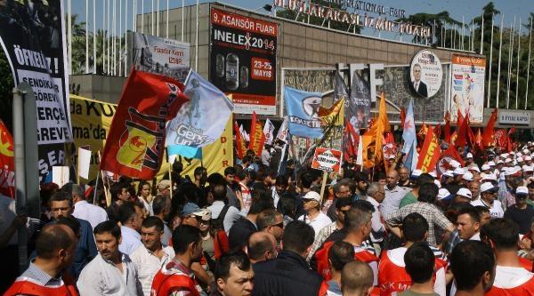 İşçiler, 'taşerona' Karşı Yürüdü