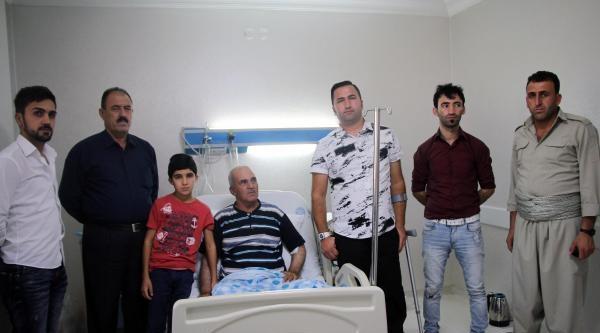 Işid İle Çatişmada Yaralanan 3 Peşmerge Subay Batman'da Ameliyat Edildi