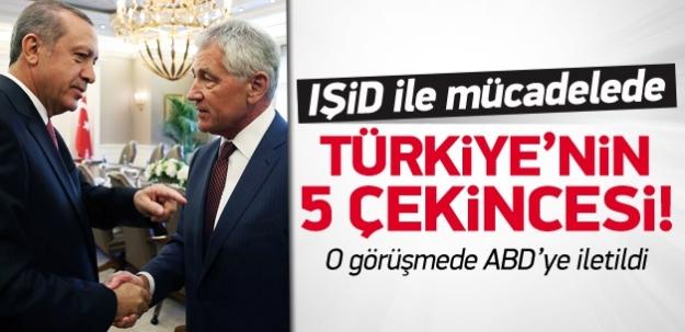 IŞİD ile mücadelede Türkiye'nin 5 çekincesi