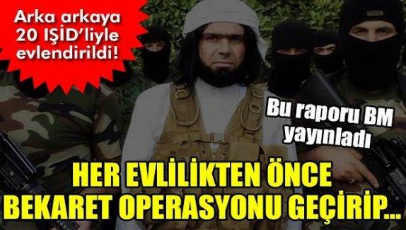 IŞİD'in seks kölesi yapılan kıza 20 kez bekaret operasyonu...