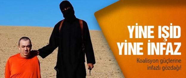 IŞİD İngiliz rehineyi infaz etti!