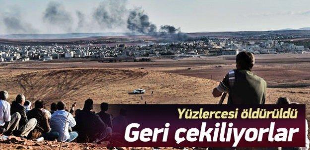 IŞİD Kobani'den geri çekiliyor