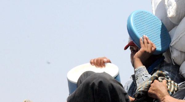 Işid Korkusuyla Musul'dan Kaçanların Bm Kampında Zor Yaşamı