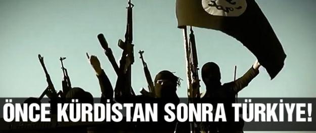 IŞİD Kürdistan'dan sonra Türkiye'ye girecek!
