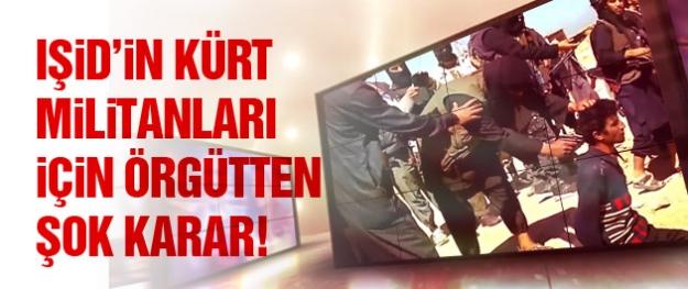 IŞİD Kürtçe'yi yasakladı! Kürt üyelerini infaza başladı!