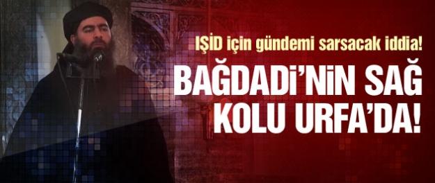 IŞİD lideri Bağdadi'nin sağ kolu Urfa'da!