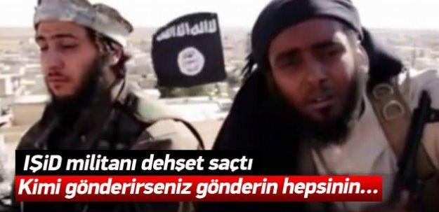 IŞİD meydan okudu: Herkesin kellesi kesilecek