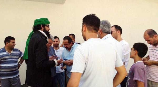 Işid Militanı Sanıldı, Turist Çikti
