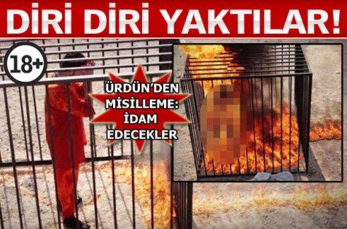 IŞİD O PİLOTU İNFAZ ETTİ!