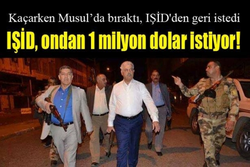 IŞİD, ondan 1 milyon dolar istiyor!