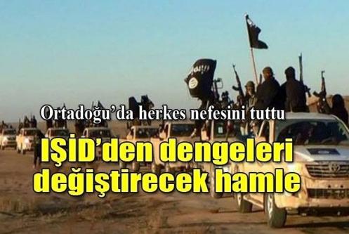 IŞİD şimdi de suya el koyuyor
