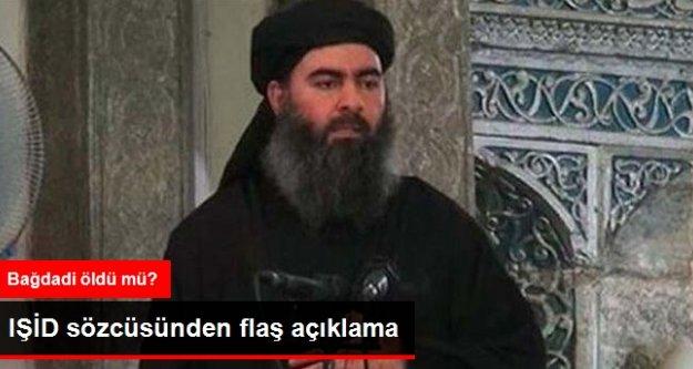 IŞİD Sözcüsü Adnani: Bağdadi Yaralandı