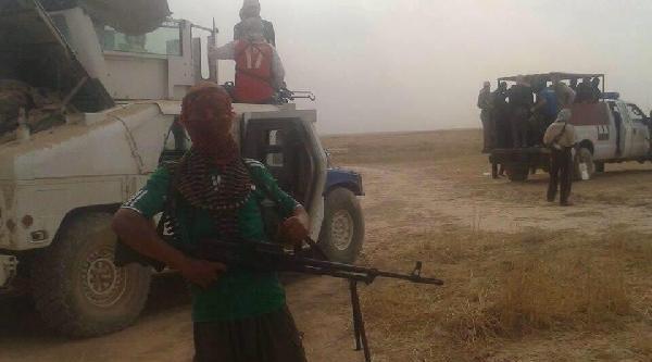 Işid, Tikrit'te 1700 Polisi Kurşuna Dizdi