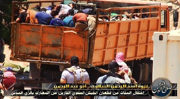 Işid, Tikrit'te 1700 Polisi Kurşuna Dizdi- Ek Fotoğraflar