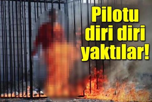 IŞİD Ürdünlü pilotu yakarak öldürdü
