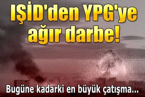 IŞİD, YPG'nin mühimmat depolarını patlattı