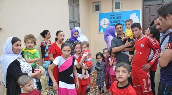 Işid'den Kaçan 2 Aile Çukurca'ya Geldi