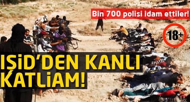 IŞİD'den kanlı katliam! (+18)