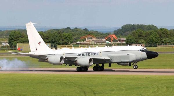 Işid'e Karşı Rc-135v/w Rivet Joint  Devrede