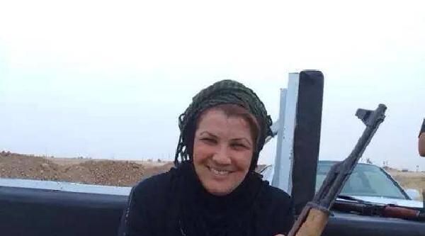 Işid'e Karşı Savaşan Kadın Çatişmada Hayatını Kaybetti