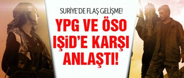 IŞİD'i Halep'ten ÖSO ve YPG temizleyecek!