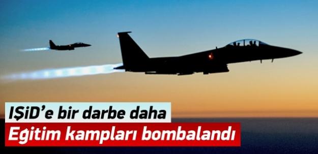 IŞİD'in eğitim kampları bombalandı
