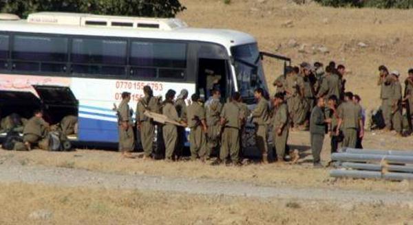 Işid'in Ele Geçirdiği Şengal'e, Kandil'den Otobüslerle Pkk'lı Sevkiyatı