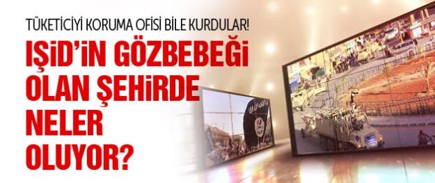 IŞİD'in gözbebeği olan şehirde neler oluyor?