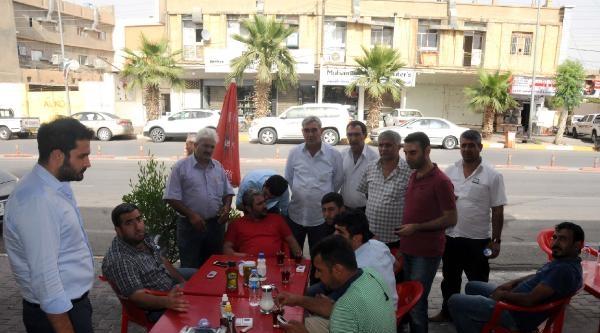 Işid'in Kaçırdığı Şoförlerin Irak'a Gelen Yakınlarının Endişeli Bekleyişi