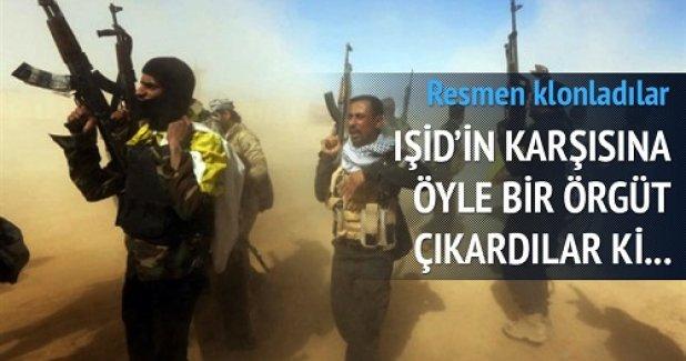 IŞİD'in karşısına öyle bir örgüt çıkardılar ki!