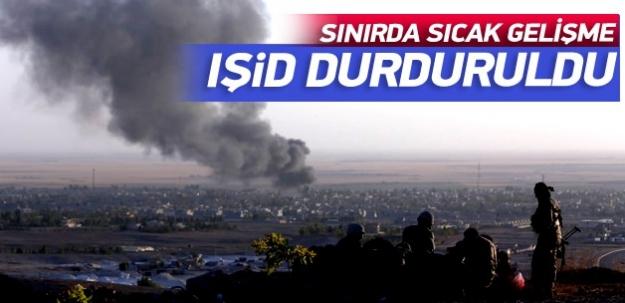 IŞİD'in Kobani'deki ilerleyişi durduruldu