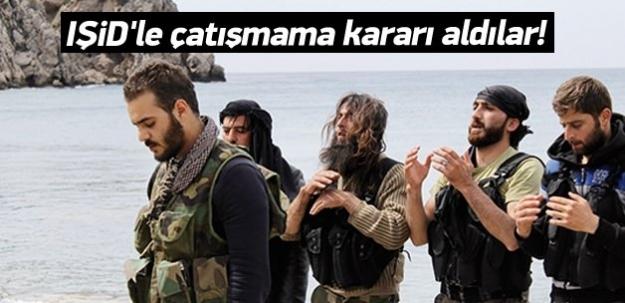 IŞİD'le çatışmama kararı aldılar!