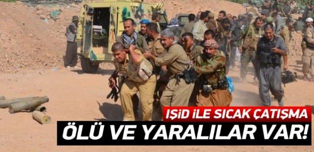IŞİD'le sıcak çatışma: Ölü ve yaralılar var