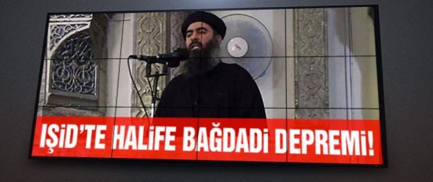 IŞİD'te halife depremi! Bağdadi için şok iddia!