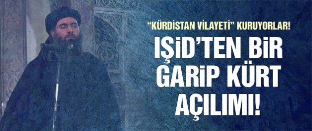 IŞİD'te yok yok! Şimdi de Kürt açılımı başlattılar!